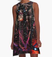 Scorpio A-Line Dress