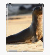 Wet sea lion iPad Case/Skin