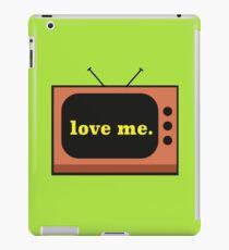 love me. iPad Case/Skin