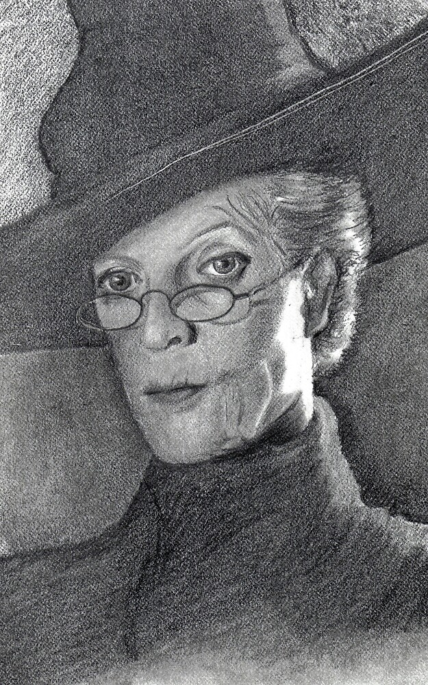 Professor Minerva McGonagal by Michelle Tabares