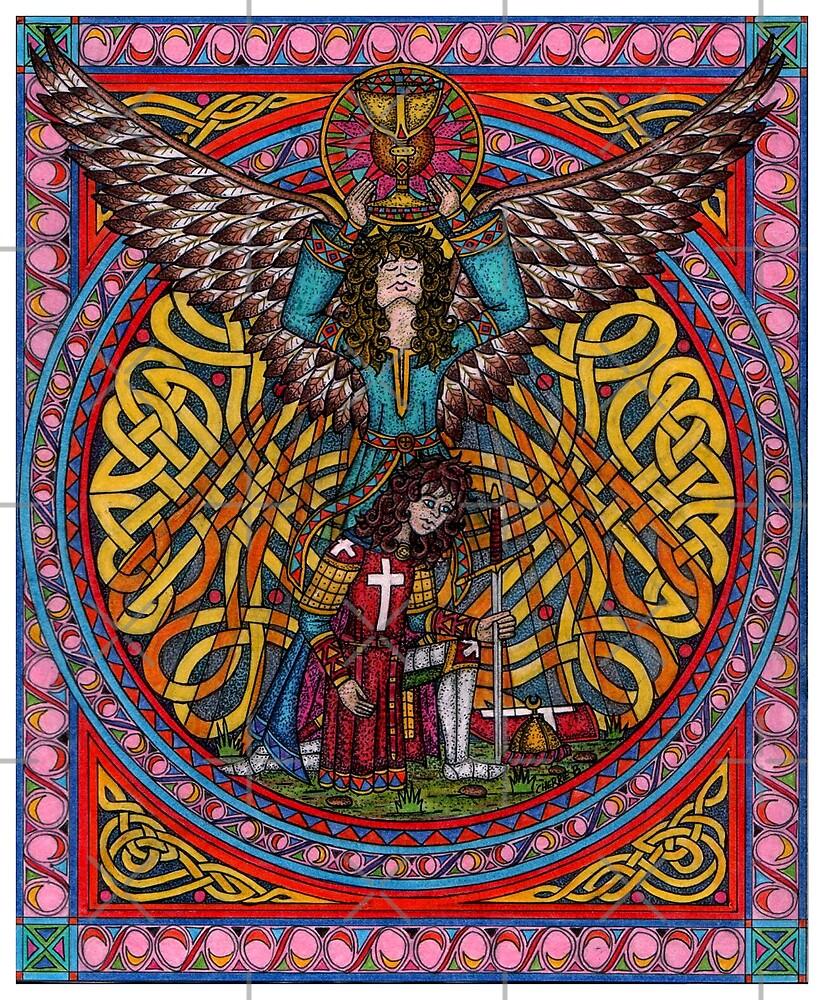 Galahad the one true knight by CherrieB