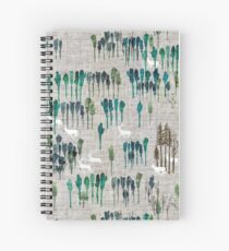Deep Forest  Spiral Notebook