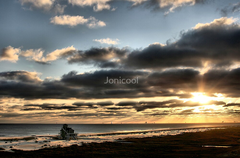Fort Morgan, AL Sunset by Jonicool