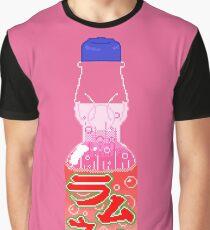 Strawberry Ramune Graphic T-Shirt