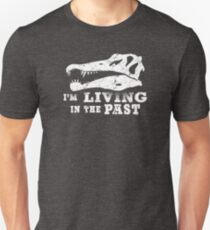 Living in the Past with Spinosaurus Unisex T-Shirt
