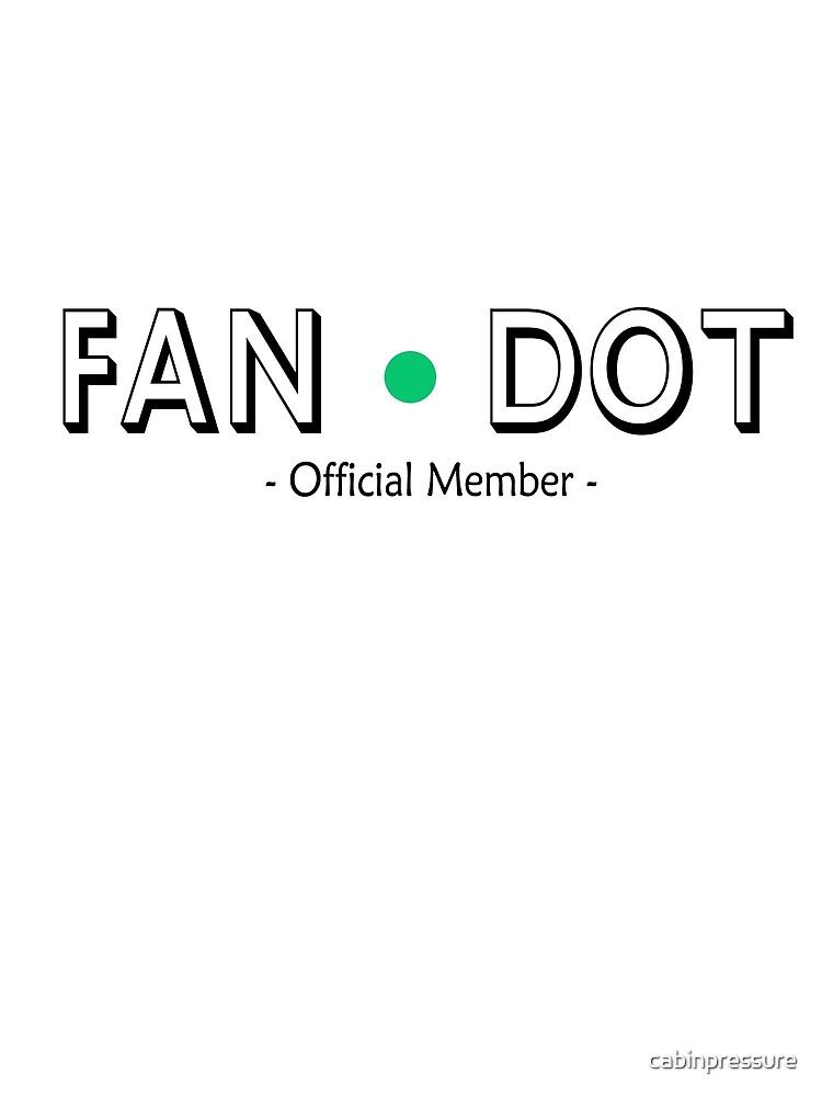 Cabin Pressure - Fan Dot Official Member by cabinpressure
