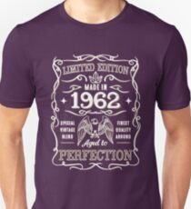 Made In 1962 Birthday Gift Idea T-Shirt