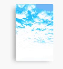 """""""Cloud At Last"""" #Sky #Blue #Spring #Outdoors Canvas Print"""