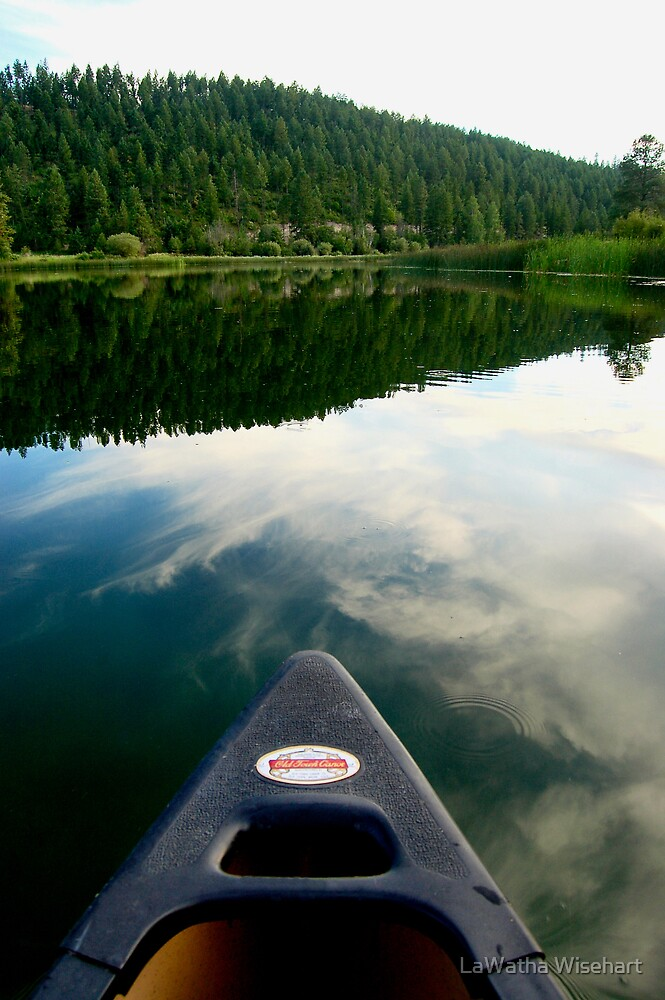 Heading Out in the Canoe by LaWatha Wisehart