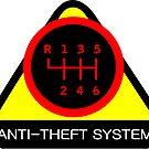 Anti-Theft System (Pattern 5) (dark) by ShopGirl91706