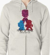 Made of Love Zipped Hoodie