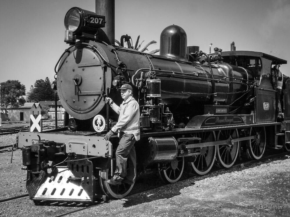 Old engine 207 by DPalmer