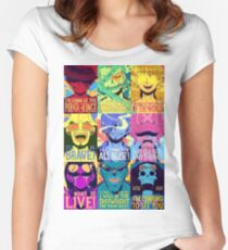 One piece Puzzle Women's Fitted Scoop T-Shirt