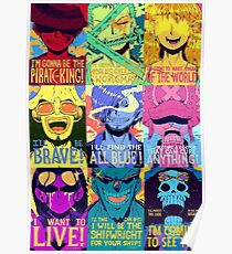 One piece Puzzle Poster