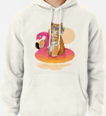 Chillin, Flamingo-Tiger Hoodie