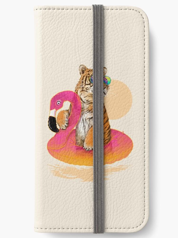 «Chillin, tigre flamenco» de 38Sunsets