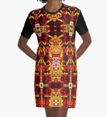 Magdalene Carapace Graphic T-Shirt Dress