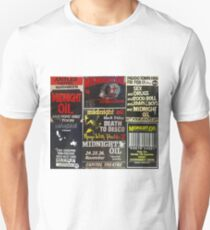 7 old midnight oil posters Unisex T-Shirt