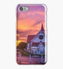 Sunset at Sandgate iPhone Case/Skin