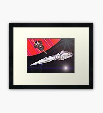 Star Liner Queen Emma Framed Print
