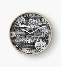 Heavy metal bands Clock