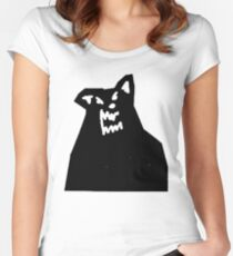 Russ Diemon - There's Really A Wolf Album Cover [BLACK] Women's Fitted Scoop T-Shirt