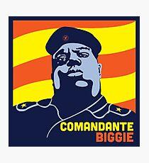 Comandante Notorious BIG Biggie Smalls Hip Hop Revolución Photographic Print