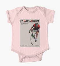VUELTA CICLISTA: Vintage Bike Racing Advertising Print One Piece - Short Sleeve