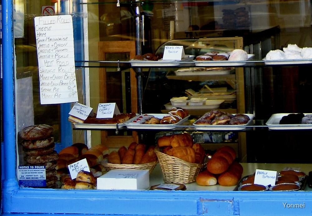 An Edinburgh baker's window by Yonmei