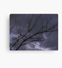 SUPERBOWL WEATHER Canvas Print