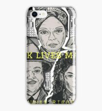 (Human Rights - Black Lives Matter) - yks by ofs珊 iPhone Case/Skin