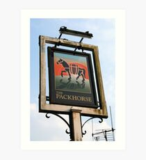 Packhorse Inn Art Print