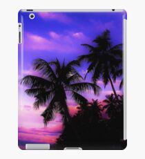 Palm Paradise - Pink and Purple iPad Case/Skin