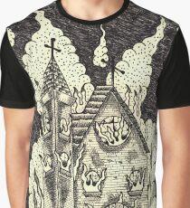 Church Burning sharpies Graphic T-Shirt