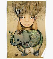 elephant child Poster
