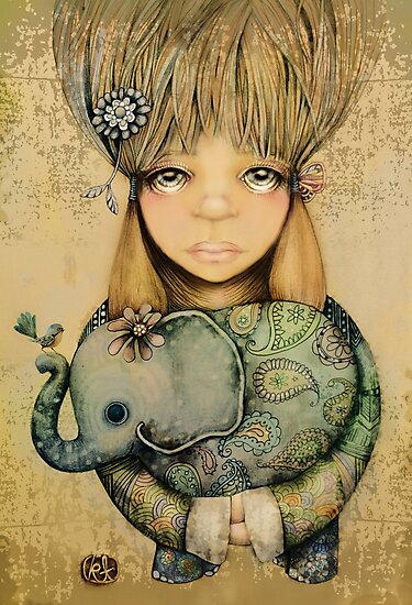 elephant child by Karin Taylor
