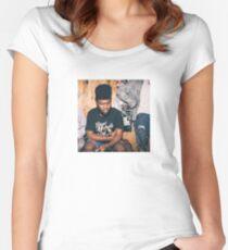 KHALID Women's Fitted Scoop T-Shirt
