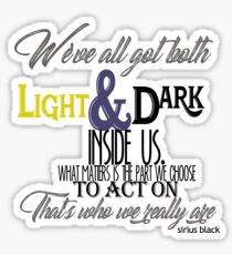 Sirius Black Quote Sticker
