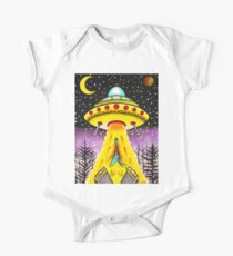 FLYING V ABDUCTION One Piece - Short Sleeve