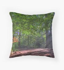 In Brocket Park in Early Autumn Throw Pillow