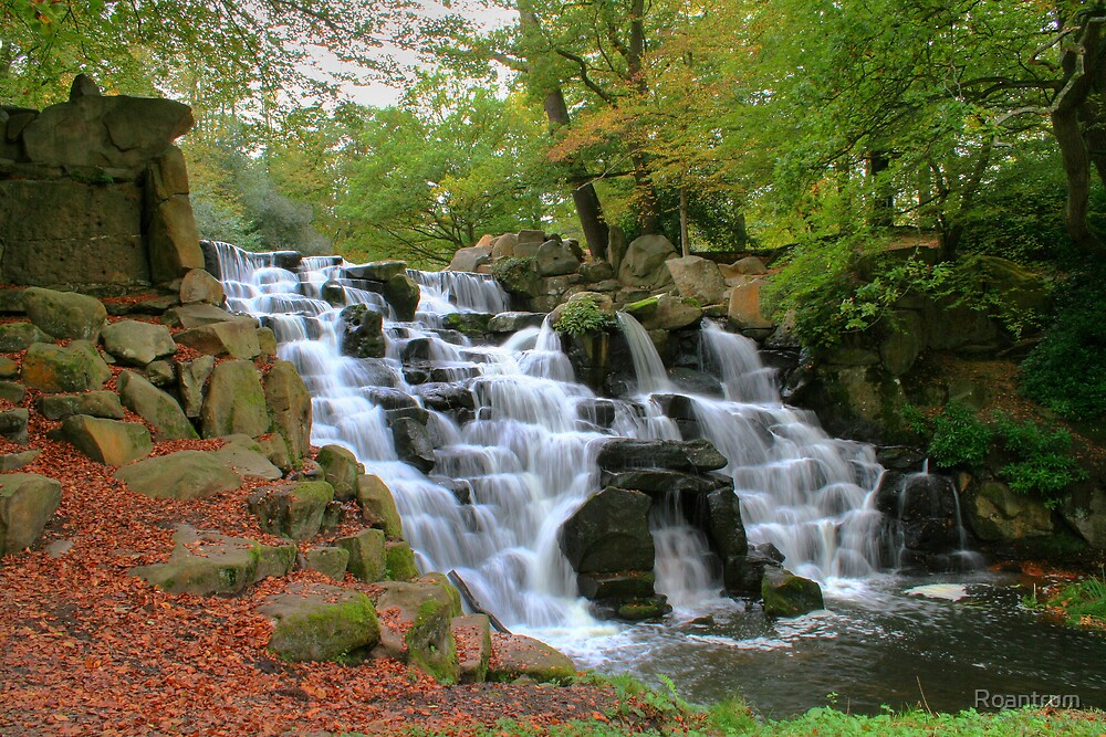 The Cascade at Virginia Water by Roantrum