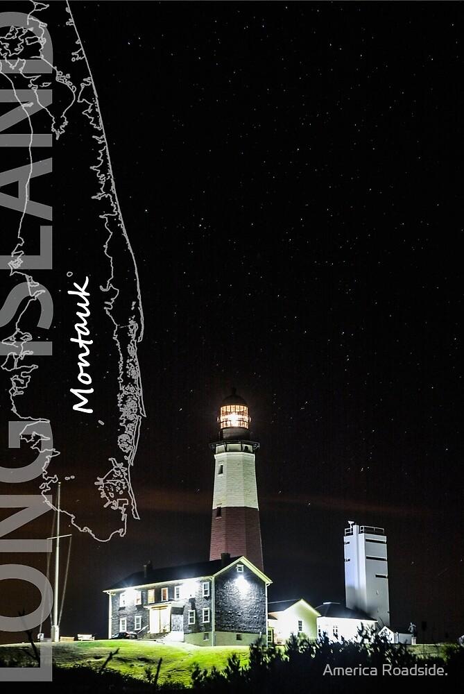 Montauk Point Light. by America Roadside.