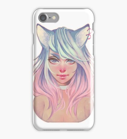 Pastel Wolf iPhone Case/Skin