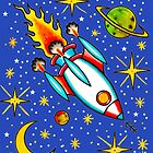 Rocket to the Stars by ArtByKevG