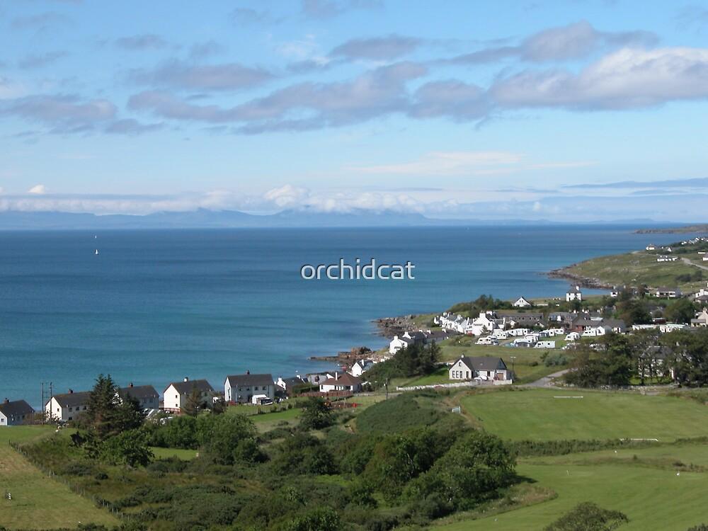 Gairloch, Wester Ross, Scotland looking towards Skye by orchidcat