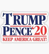 Trump Pence '20 Pegatina