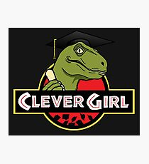 Clever Girl Photographic Print