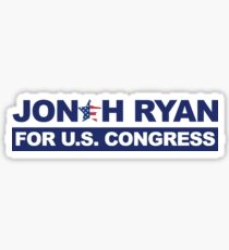 Jonah Ryan for U.S. Congress Sticker