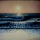 Atlantic Beach Sunset by CHARLESHILLART
