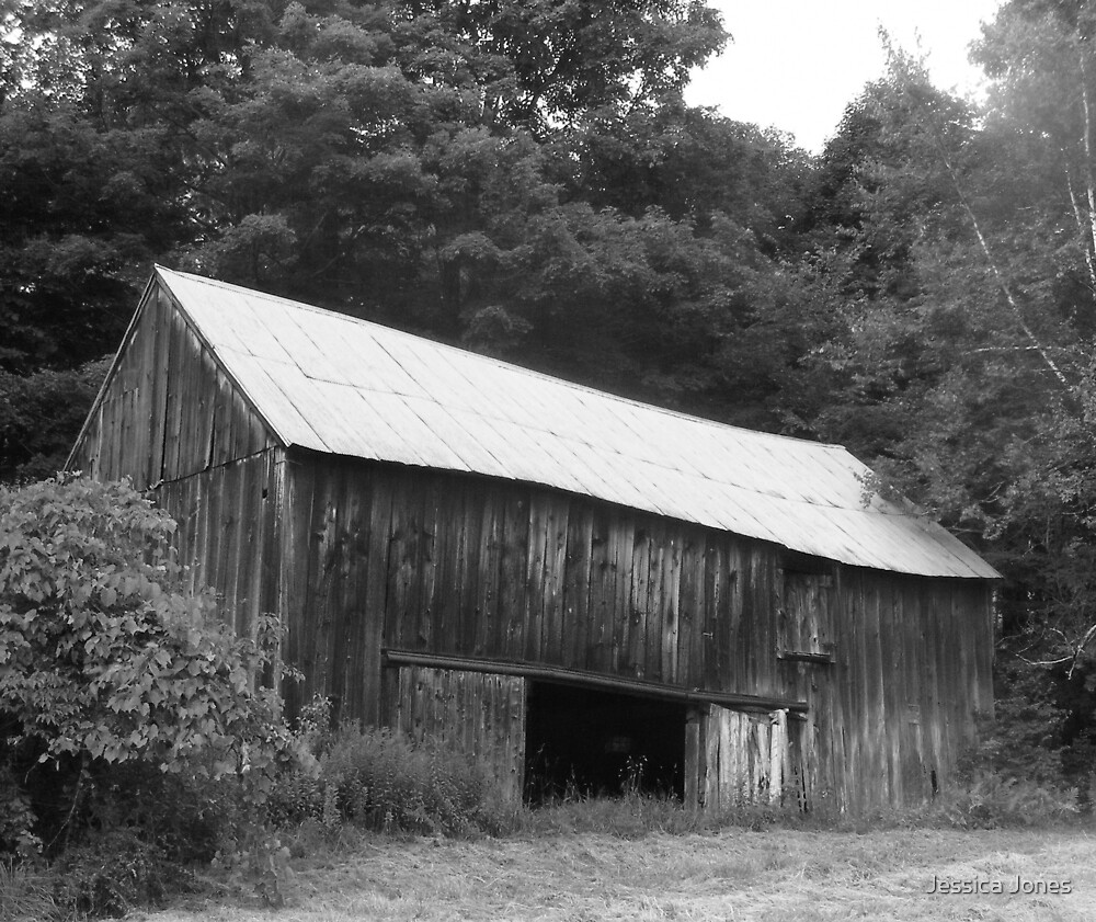 Old Barn by Jessica Jones
